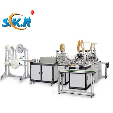SKR-MMP04 Automatic Medical Mask Making Machine